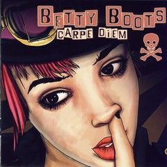 "BETTY BOOTS ""Carpe Diem"" CD"