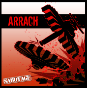 "ARRACH ""Sabotage"" CD"