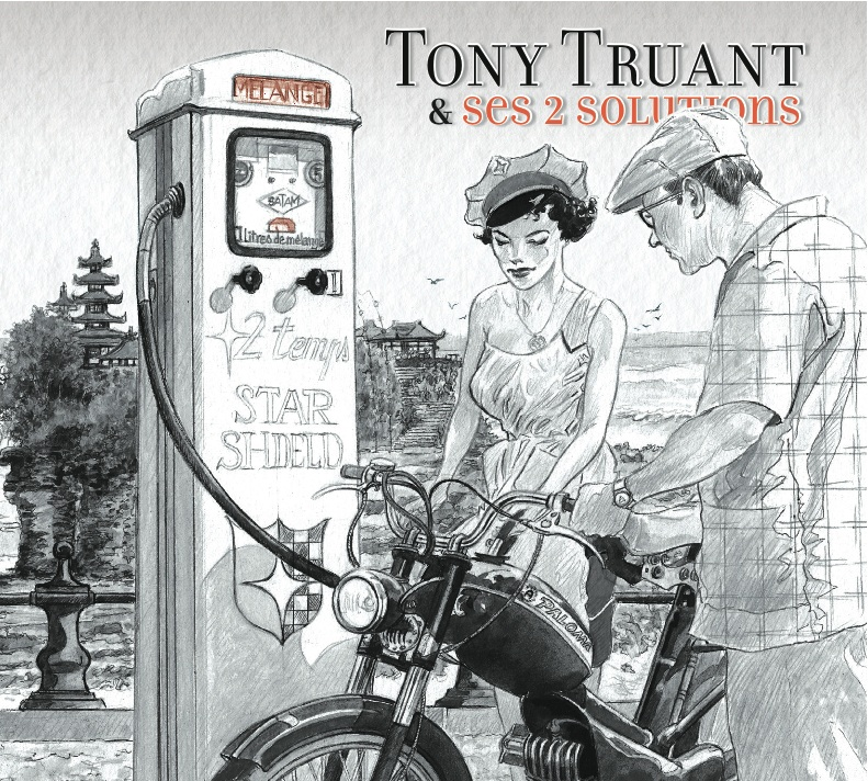 "TONY TRUANT & SES 2 SOLUTIONS ""Mélange"" CD Digipack"