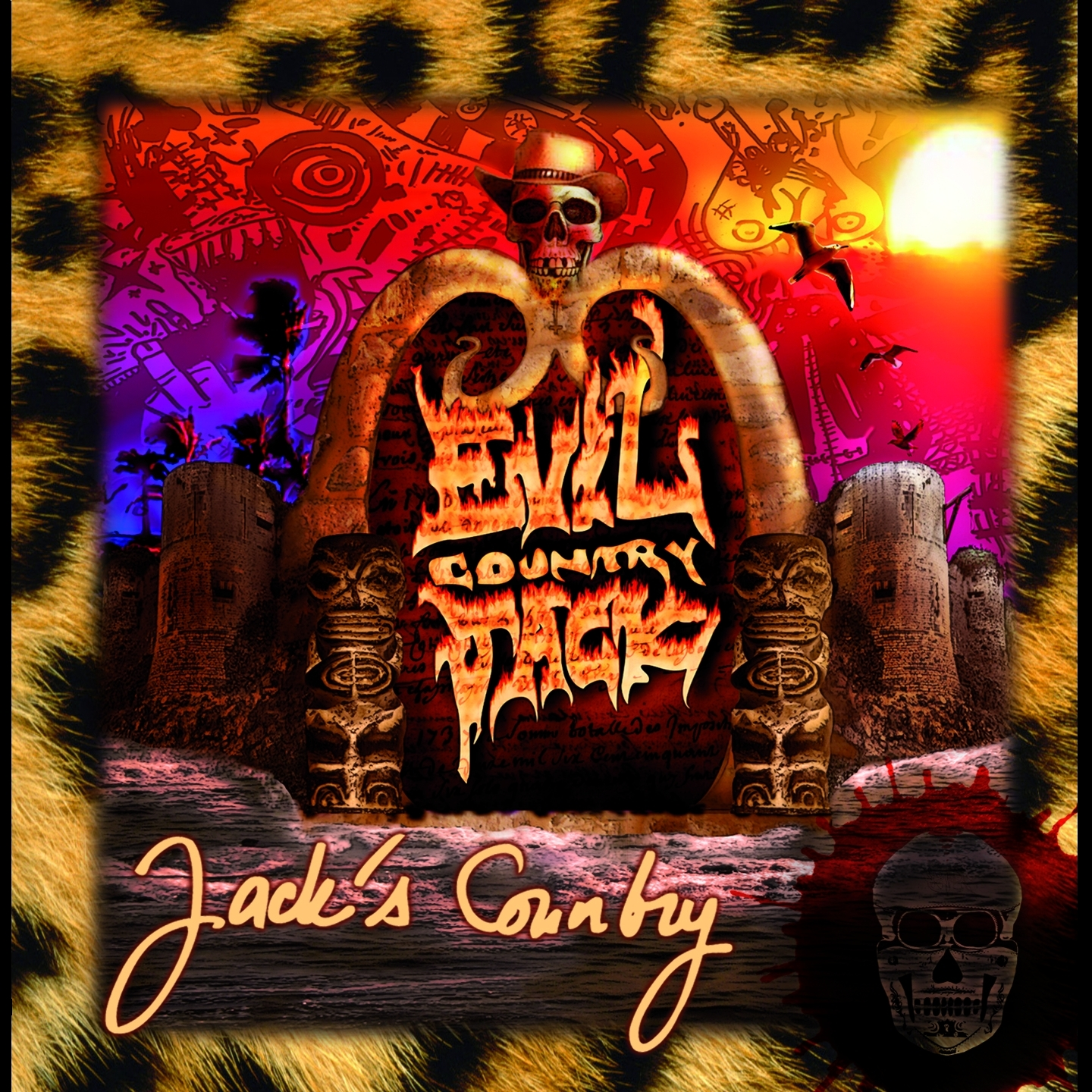 "EVIL COUNTRY JACK ""Jack's Country"" CD"