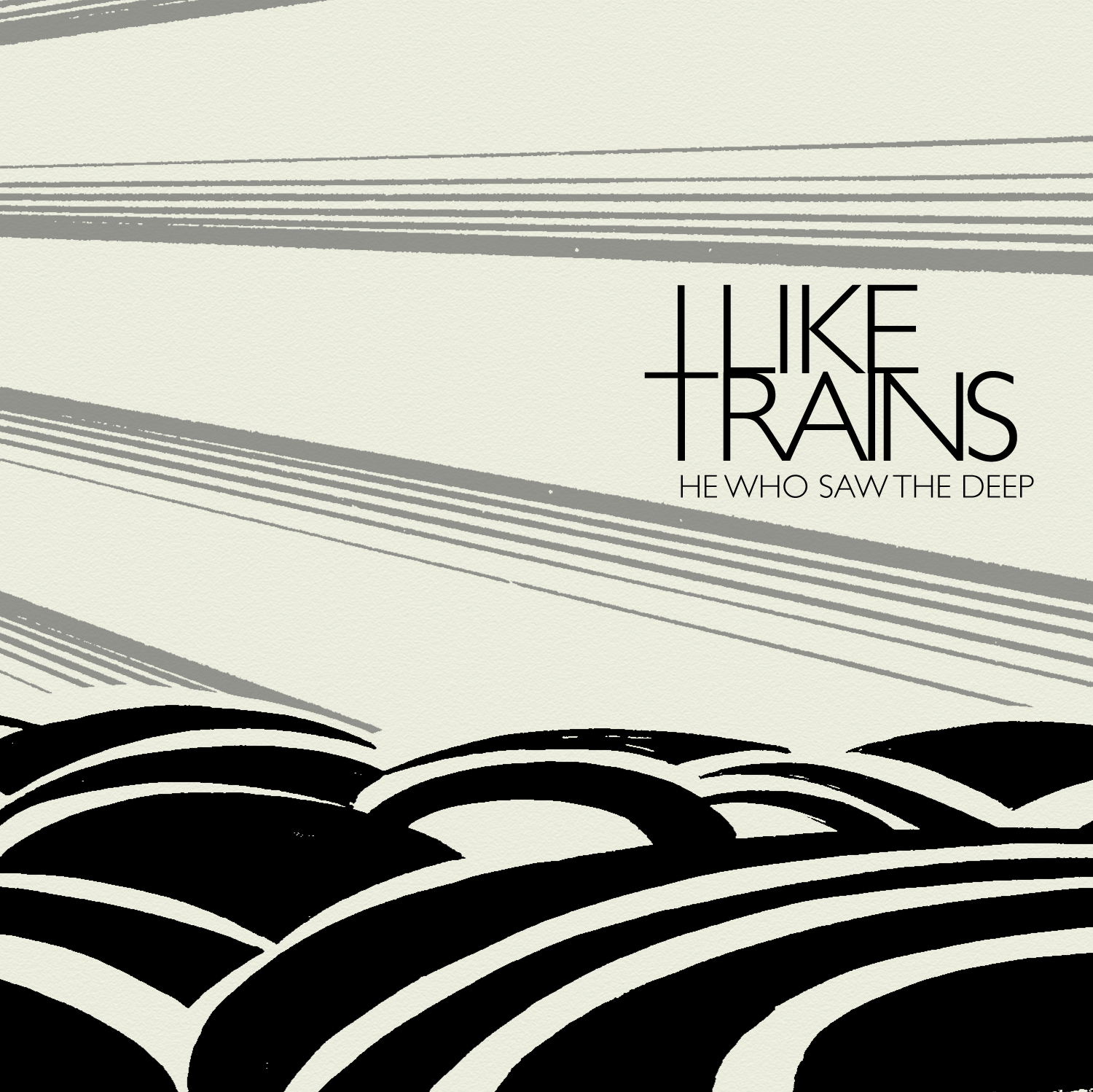 "I LIKE TRAINS ""He Who Saw The Deep"" LP"