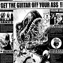 "COMPILATION ""Get The Guitar Off Your Ass !!"" LP 12"""