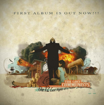 "THE LOST COMMUNISTS ""the 12 last nights of a pastor..."" CD"