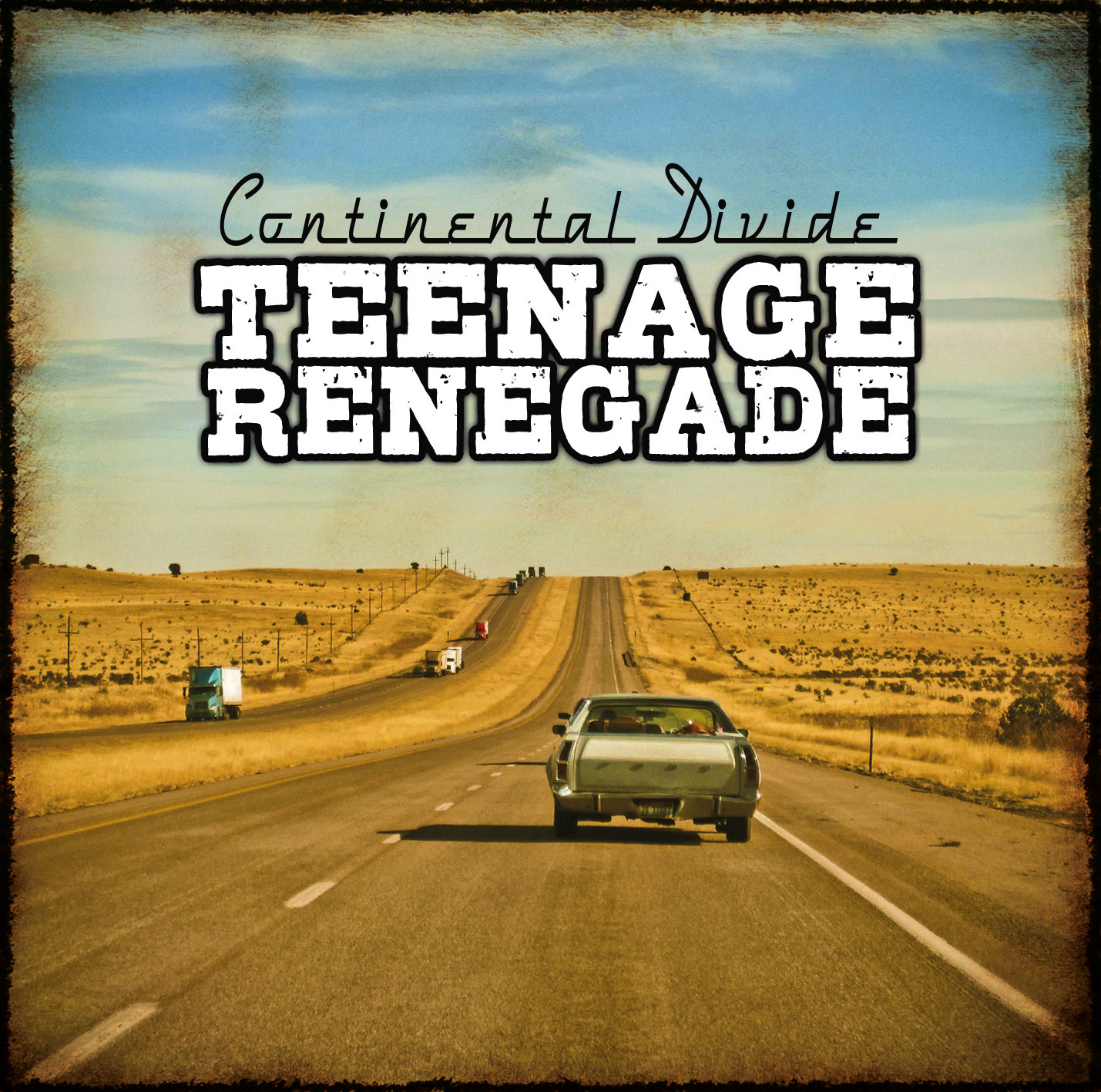 "TEENAGE RENEGADE ""Continental Divide"" CD"
