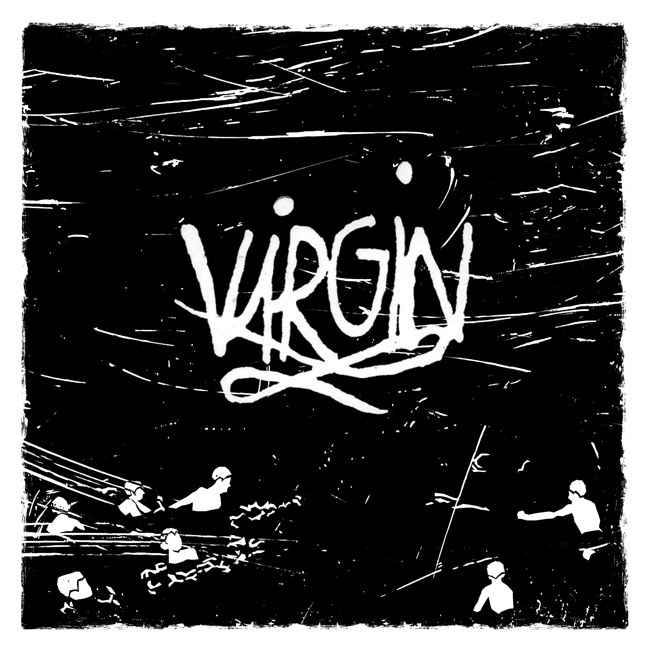 "CRANE ANGELS ""Virgin / the World"" 7"""