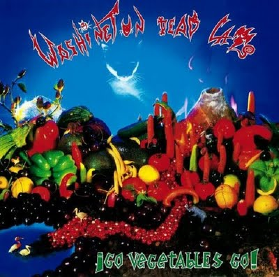 "WASHINGTON DEAD CATS ""Go Vegetables Go !"" CD"