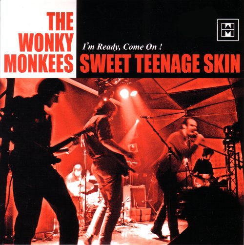 "WONKY MONKEES ""Sweet Teenage Skin"" 7"""