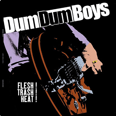 "DUM DUM BOYS ""Flesh! Trash! Heat!"" LP 12"""