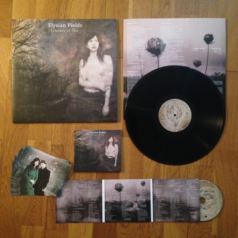"ELYSIAN FIELDS ""Ghosts of No"" VINYLE"