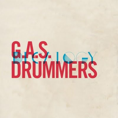 "G.A.S. DRUMMERS ""decalogy"" CD"