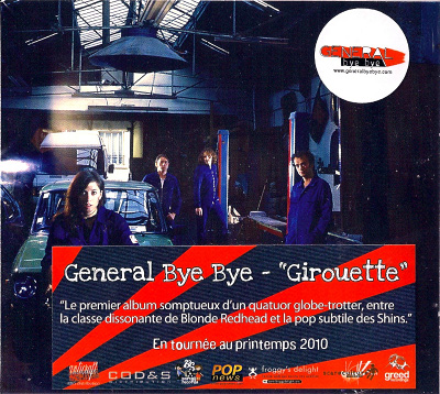 "GENERAL BYE BYE  CD ""Girouette"""