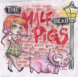 "THE HALF DEAD PIGS ""s/t"" CD"