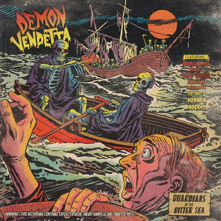 "DEMON VENDETTA ""Guardians Of The Bitter Sea"" LP 12"""