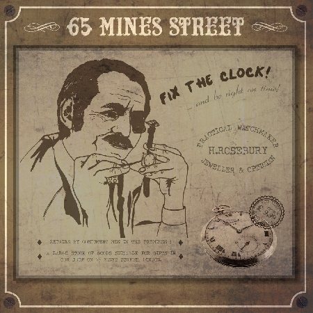 "65 MINES STREET ""Fix The Clock"" LP 12"""