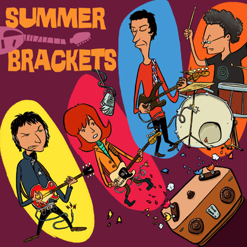"SUMMER BRACKETS ""s/t"" CD Digipack"