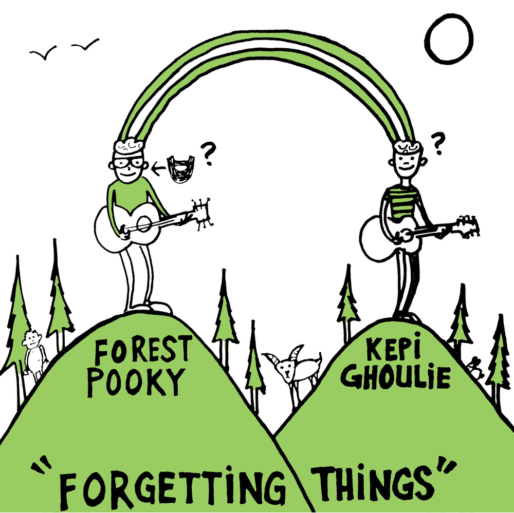 "FOREST POOKY / KEPI GHOULIE ""Forgetting Things"" LP"