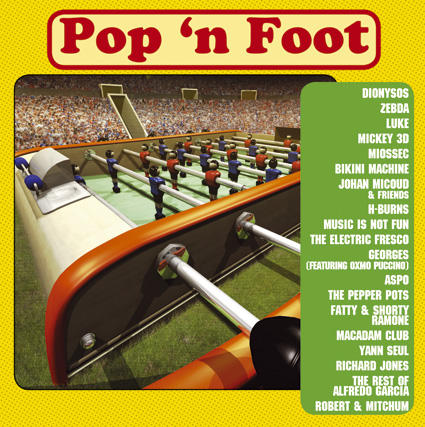 v/a POP'N FOOT CD