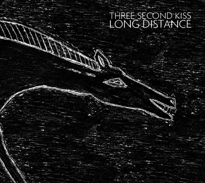 "THREE SECOND KISS ""long distance"" LP"